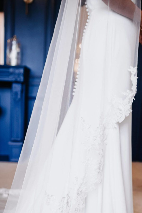 Shop the new Chloe - x Long with Abigail Edging to fingertip veil online today. Click to find out more and shop now.